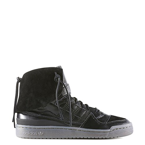 Adidas Men's Forum Hi Moc Cblack/Cblack/Clay Casual Shoe 9 Men (Sport Moc Shoes)