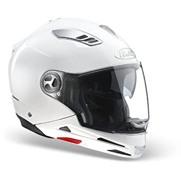 Casco est-multi blanco perla doble Type S HJC TG S