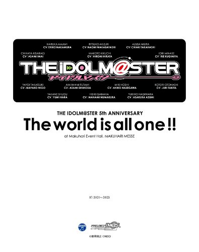 THE IDOLM@STER 5th ANNIVERSARY The world is all one !! Blu-ray BOX 《初回生産限定版》 B004IKA5W6