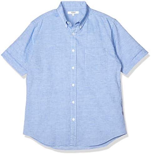 WOVEN SHIRTS 吸水速乾 ハードゥ コットンリネン 半袖シャツ メンズ