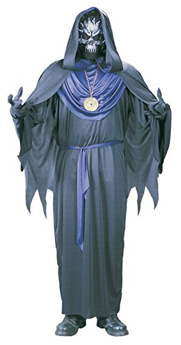 Emperor Of Evil Adult Costumes (Funworld Mens Emperor Of Evil Theme Party Fancy Dress Halloween Costume, One Size)