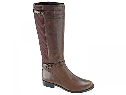 Women's Aetrex 'Chelsea' Riding Boot Brown Size 8 M