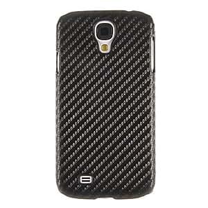 conseguir Textura Patrón cubierta de la caja de plástico de protección para el Samsung Galaxy S4 i9500 , Negro