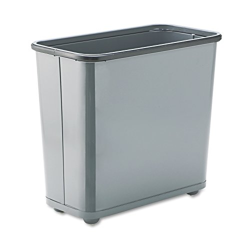 Rubbermaid Commercial Trash Can, 7-1/2 Gallon, Gray, FGWB30RGR