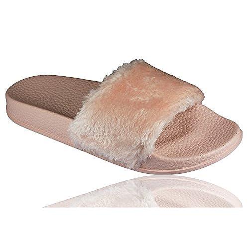 De Nuevo Ideal Zapatillas Piel Estar Casa Fashion Romaan's Por XTZOukPi