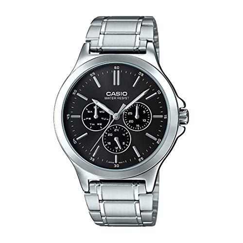 Casio Analog Black Dial Men's Watch – MTP-V300D-1AUDF (A1173)