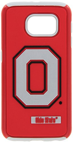 Forever Collectibles Samsung Galaxy S6 Licensed Ncaa Dual Hybrid Case 2-Piece Ohio State (Bean Silicon Case)
