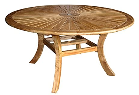 teak sun table made by chic chic teak furniture l96 chic