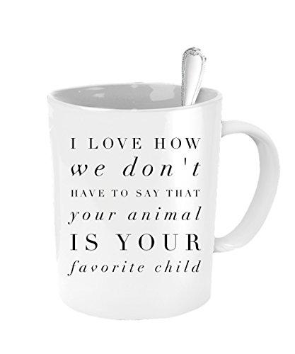 Animal Mug - Favorite Child Mug - Inexpensive Mothers Day - Definition Boss Pit