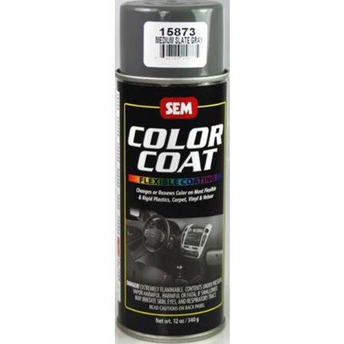 Sem Color Coat Med. Slate Gray Sem Vinyl Aerosol 15873