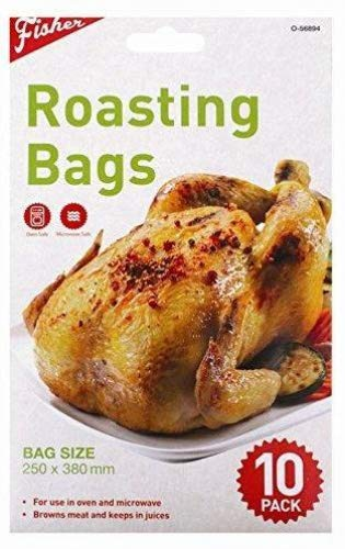 Pack de 10 bolsas para asar Roast verduras y pescado - Alimentos y ...