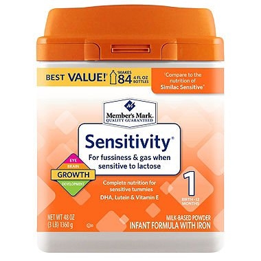 Member's Mark Infant Formula, Sensitivity (48 oz.)