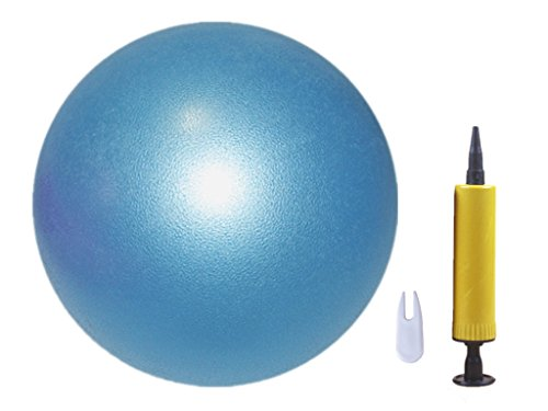 Mini Fitness Ball, for Pilates Yoga Gym Full Body Workout, Premium Exercise Ball for Physical Therapy (blue)