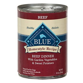Blue Buffalo Homestyle Recipe Beef Dinner Canned Dog Food