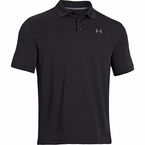 Performance Mens Golf Polo (Under Armour Men UA Golf Performance Logo Polo T-Shirt (X-Large, Black))