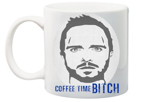 "Breaking Bad Jesse Pinkman ""Coffee Time"" 11 Ounce Mug"