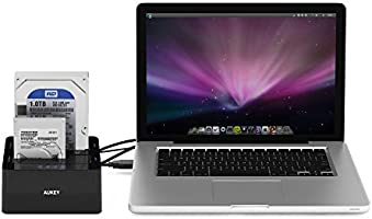 Aukey Dual USB 3.0 Disco duro Base de carga con función de ...