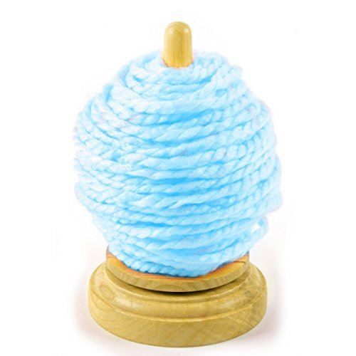 Quilted Bear Deluxe Wooden Spinning / Revolving Thread & Yarn Ball Holder