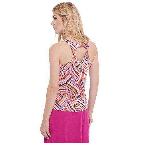 Surkana - Camiseta sin mangas - para mujer Multicolor