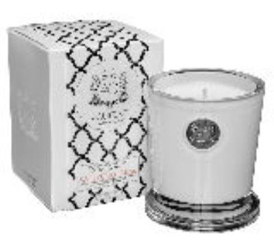 Aquiesse CORAL MUSK 11oz White Currants Gift Boxed Scented Soy Candle by
