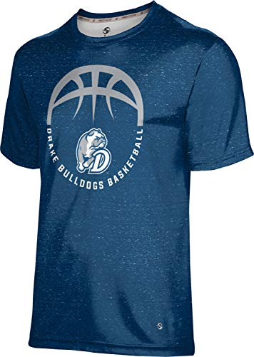 ProSphere Drake University Basketball Boys' Performance T-Shirt (Heather) 1003D Blue and Gray