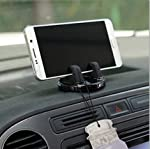 TRUE LINE Automotive Car Cell Phone Dashboard Mounted Holder 360 Degrees