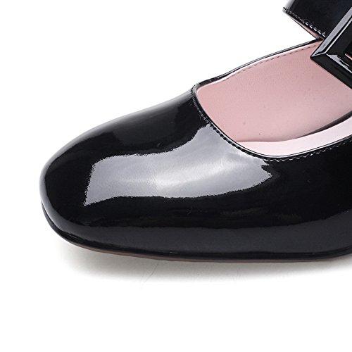 Noir Sandales 5 36 Compensées Noir BalaMasa EU Femme tBf66