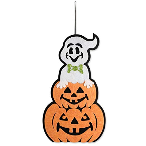 Halloween Indoor and Outdoor Hanging Door Decorations and Wall Signs Scary Party Supplies (E) by Coerni (Image #5)