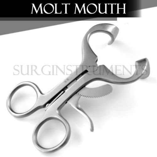 Molt Mouth Gag Anesthesia Instruments 3.5'' 3.50 3.5