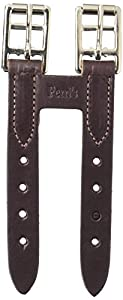 Perri's Leather Girth Extender, Havana, One Size
