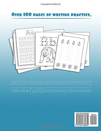 Tracing Books for Kids Alphabet Letters Workbook: Alphabet Books for ...