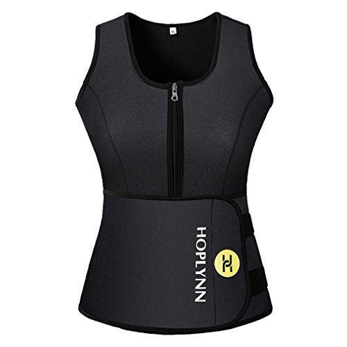 HOPLYNN-Sweat-Vest-for-Women-Adjustable-Neoprene-Sauna-Waist-Trainer-Vest-for-Weight-Loss-See-The-Size-Chart