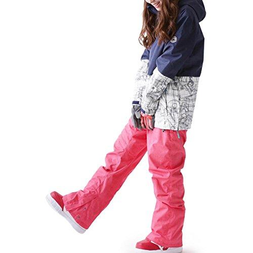 ICEPARDAL(アイスパーダル)全20色柄レディーススノーボードウェア上下セットプルオーバージャケットICF-SETICF-0409号サイズ16-17新作スノボウェアスキーウェアウエア女性用おしゃれかわいいスノボーウェア