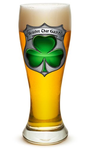 Pilsner - Police Officer Gifts for Men or Women - Law Enforcement Beer Glassware -Irish Brothrhood Police Barware Glass (23 Oz) ()