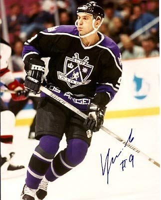 - Autographed Signed Vladimir Tsyplakov Los Angeles Kings 8x10 Photo - Certified Authentic