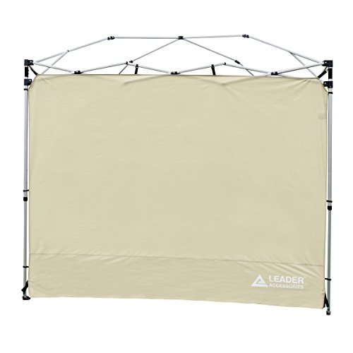 Leader Accessories Instant Canopy Side Wall Sunwall fits for standard 8' x 8' Straight Wall Canopy by Leader Accessories