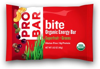 Probar Bite Organic Snack Bar  Superfruit   Greens  1 62 Ounce  Pack Of 12