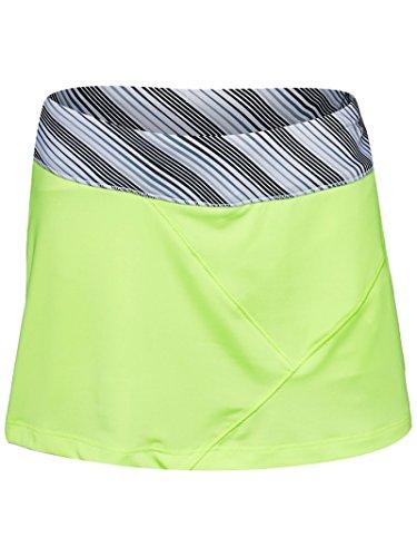 Prince Girls Knit Athletic Tennis Skort,Lemoncello,Large / 14