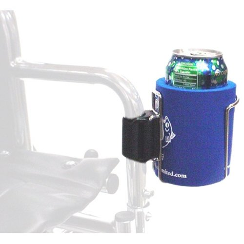 Cage Clip-On Cup Holder for Walker and Wheelchair W/Jacket 16051 Kinsman Enterprises