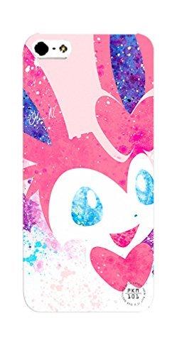 Pokemon Sylveon Inspired iPhone 5C Case - Pink Kawaii Fairy Kei Hard Case