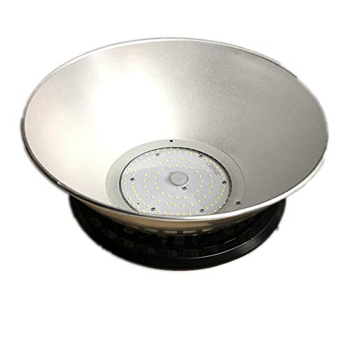 High Bay Reflector - 2-Pack Bobcat 90 Degree Beam Angle Aluminum Reflector High Shine for Bobcat 100W LED UFO High Bay Lamp