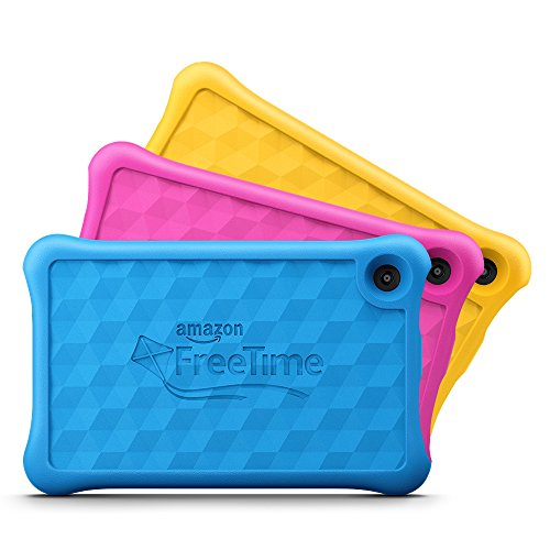 Fire 7 Kids Edition Tablet 7quot Display 16 GB Blue KidProof Case  Previous Generation  7th