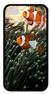 iPhone 4S Case iPhone 4S Cases Clownfish 02 Hard Soft Case Back Cover for iPhone 4/4S Black