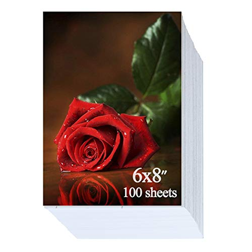(6x8 inch Glossy Photo Paper 100 Sheets 200gsm )