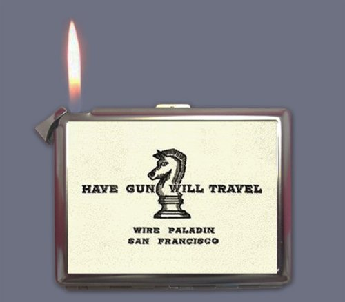 Have Gun Will Travel Cigarette Case Lighter or Wallet Business Card Holder by SiamHandCraft (Image #2)