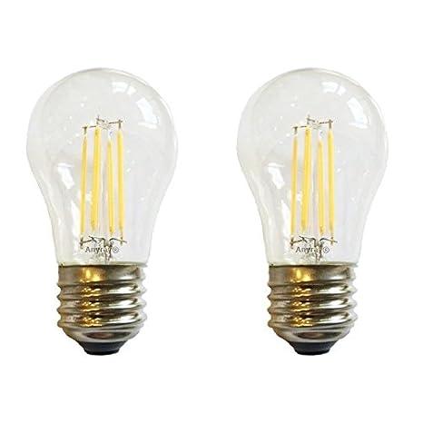 Anyray (2) -Pack A15 de filamentos LED 3,5 W (25-watts frigorífico ...