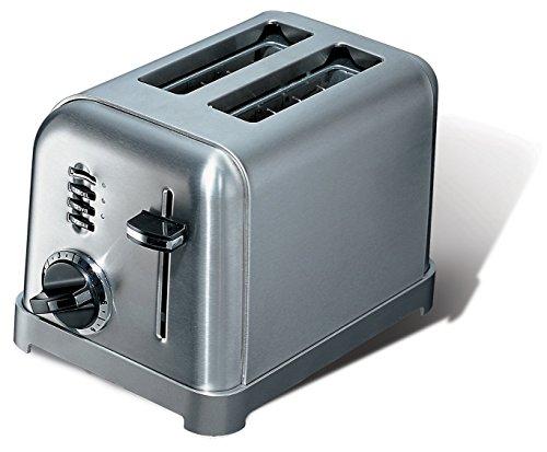 Cuisinart cpt160e toaster 2 fentes extra larges 900 w acier bross int rieur maison - Grille pain cuisinart cpt160e ...