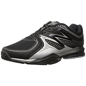 New Balance Men's MX1267 Training Shoe,Black/Silver,11 D US