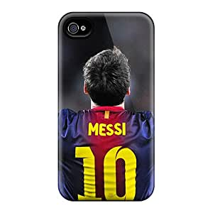 Premium The Player Of Barcelona Lionel Messi Back Covers Snap On Cases For Iphone 6plus