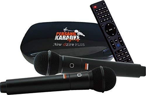 Persang Karaoke New Dzire Plus PK 8163 Karaoke, Black